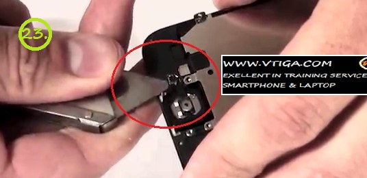 23. tutorial bongkar iphone